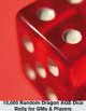 Random Dragon AGE dice tables
