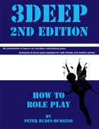 3Deep Role Playing Game How To: