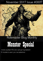 Rolemaster Fanzine Issue 0007