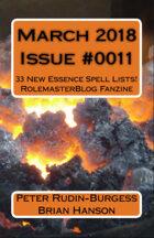 Rolemaster Fanzine Issue 0011
