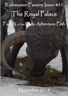 Rolemaster Fanzine Issue 31