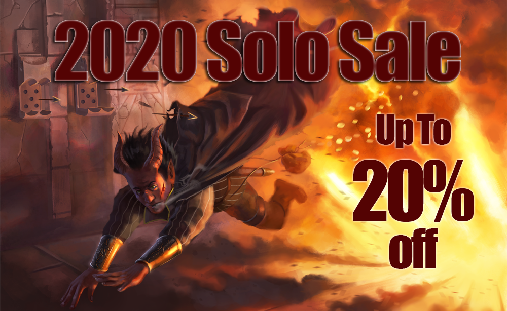 2020 Solo Sale Banner Up To 20% off