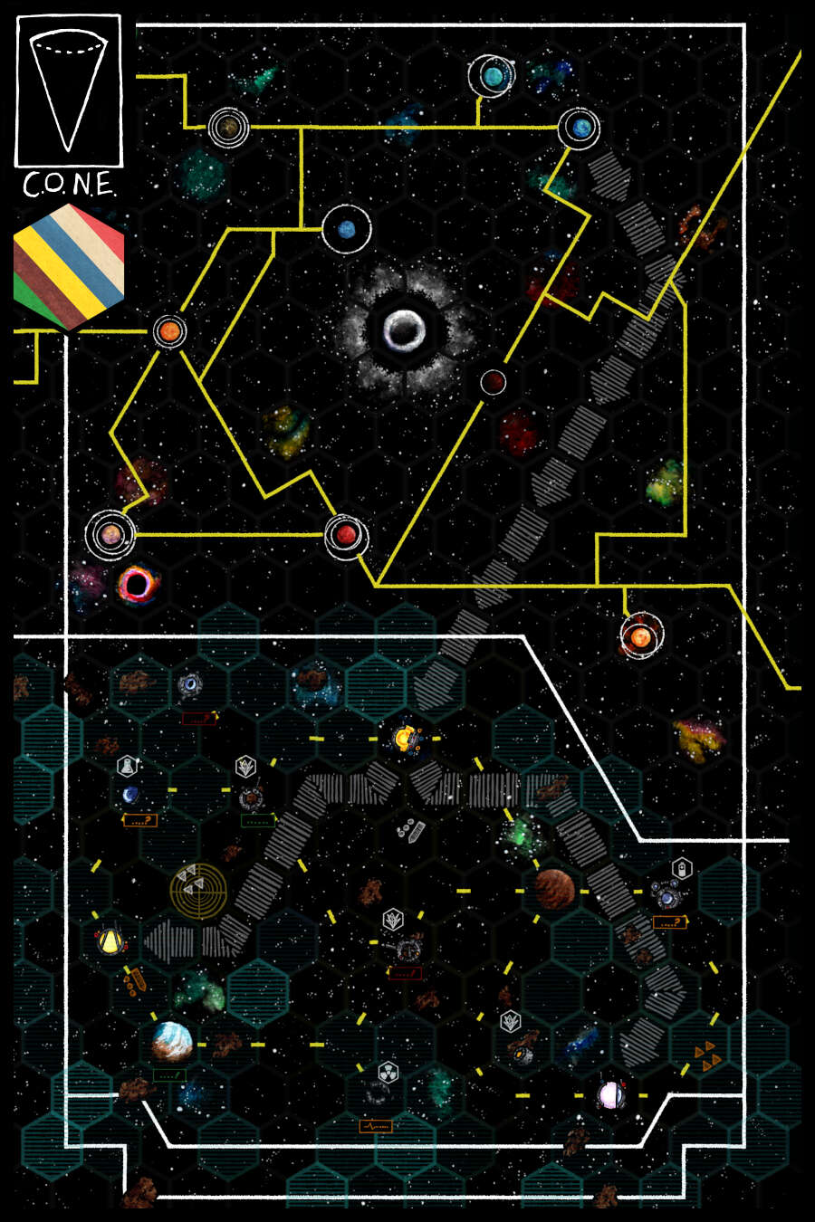 Space Hex Map