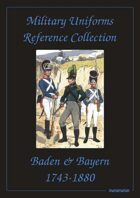 Baden, Bayern, Westphalia & Wurttemberg Military Uniforms Reference Collection