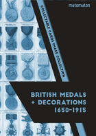 British Medals & Decorations 1650-1915 Collectable Cards Image Collection