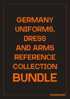 Germany Uniforms, Dress & Arms Reference Collections [BUNDLE]