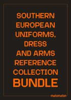 Southern Europe Uniforms, Dress & Arms Reference Collections [BUNDLE]