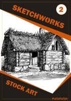 Sketchworks Stock Art #2: Hag's Hovel