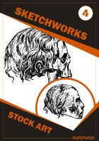 Sketchworks Stock Art #4: Shrunken Heads