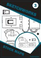 Sketchworks Stock Maps #3: SF/Spy-Fi Complex