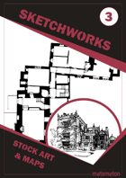 Sketchworks Stock Art & Maps #3: Tower Hall