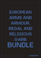 European Armour & Uniforms, Regal & Religious Garb [BUNDLE]
