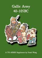Gauls 400~50BC