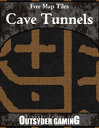 Free Map Tiles: Cave Tunnels