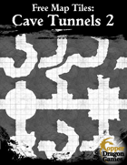 Free Map Tiles: Cave Tunnels 2