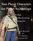 Non-Player Characters for Planet Archipelago