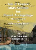Isle d' France Atlas Section for Planet Archipelago