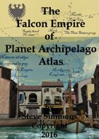 Falcon Empire Atlas Section for Planet Archipelago