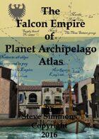 Falcon Empire Atlas Section for Planet Archipelago