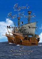 Ryan's Rat Hounds a planet Archipelago mercenary army