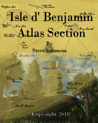 Isle D' Benjamin Atlas Section