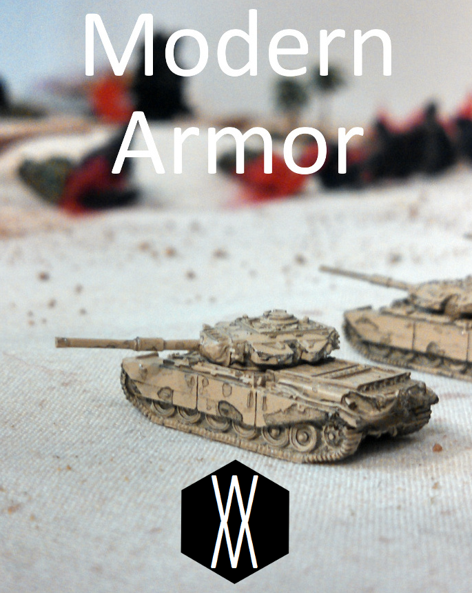 Modern Armor - Walter Moore Games | Wargame Vault