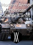 Modern Armor - American Armor Cards