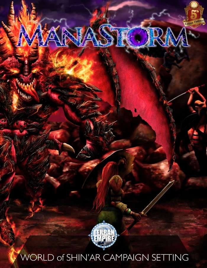 Manastorm: World of Shin'ar (5e)
