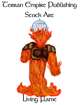 Stock Art - Living Flame