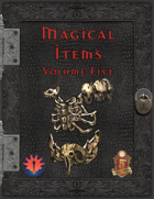 Magical Items - Volume Five