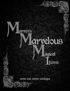 Marvins Marvelous Magical Items Catalogue arms and armor catalogue