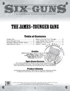 Six Guns: The James-Younger Gang