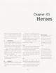 Myths of Eardhe, Hero Generation Rules
