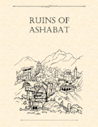 Adventure Framework 28: Ruins of Ashabat