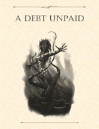 Adventure Framework 39: A Debt Unpaid