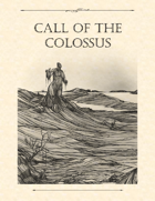 Adventure Framework 40: Call of the Colossus