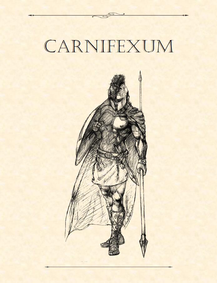 Adventure Framework 34: Carnifexum