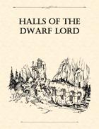 Adventure Framework 18: Halls of the Dwarf Lord