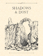Adventure Framework 37: Shadows & Dust