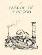 Adventure Framework 46: Fane of the Frog God
