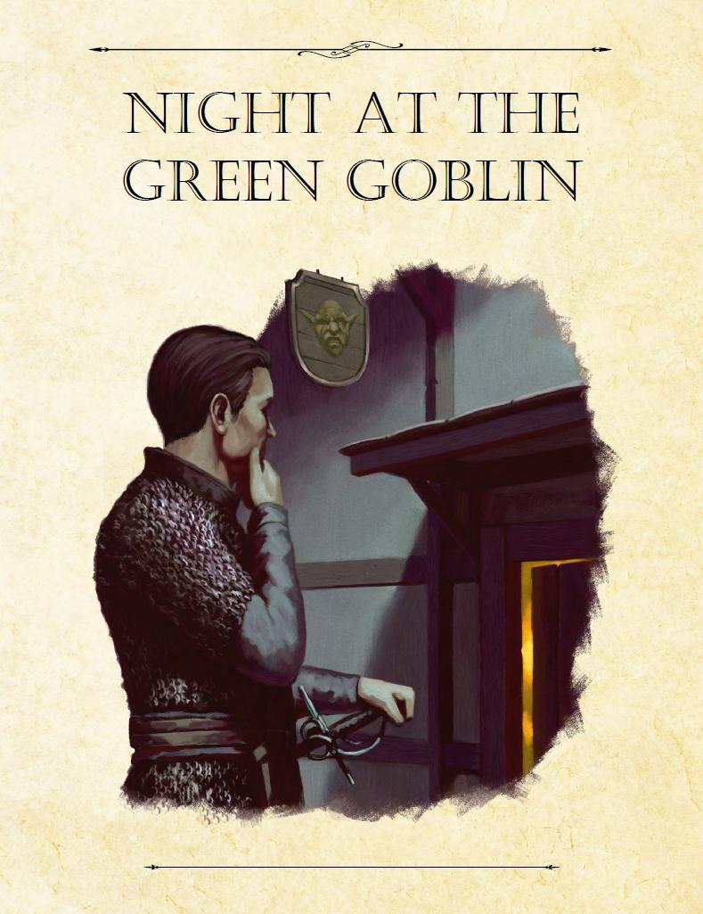 Adventure Framework 50: Night at the Green Goblin