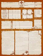 Character Sheets - Low Fantasy Gaming Deluxe Edition