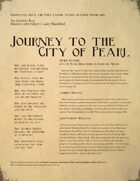 Journey to the City of Pearl