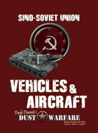 Dust Warfare SSU: Vehicles & Aircraft 1947
