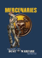 Dust Warfare Cards: Mercenaries 1947