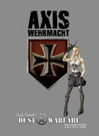 Dust Warfare Cards: Axis - Wehrmacht & Blutkreuz 1947