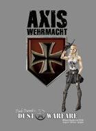 Dust Warfare Cards: Axis - Wehrmacht & Blutkreuz 1947