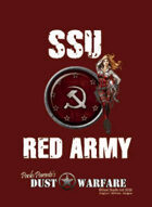 Dust Warfare Cards: SSU - Red Army 1947