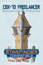 Starship: CBX-70 Freelancer Indie Freighter