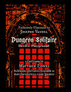 Dungeon Solitaire: Devil's Playground - Card Deck